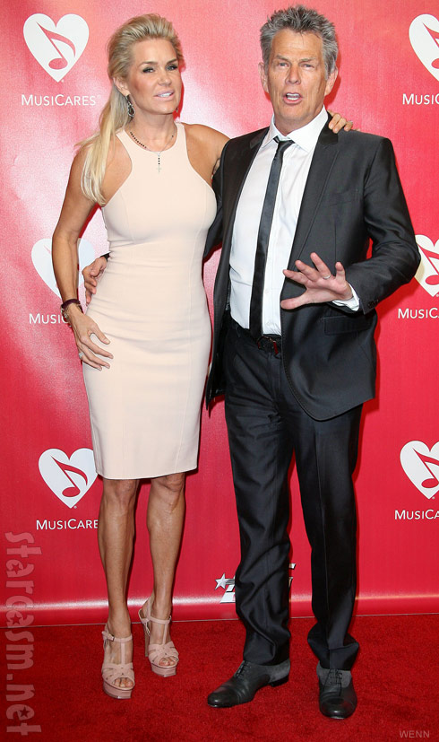Yolanda Foster and husband David Foster
