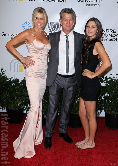 Real Housewives of Beverly Hills Yolanda Foster husband David Foster and daughter Bella Hadid
