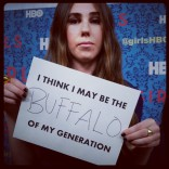 Zosia Mamet at the HBO Girls premiere in New York City April 4 2012