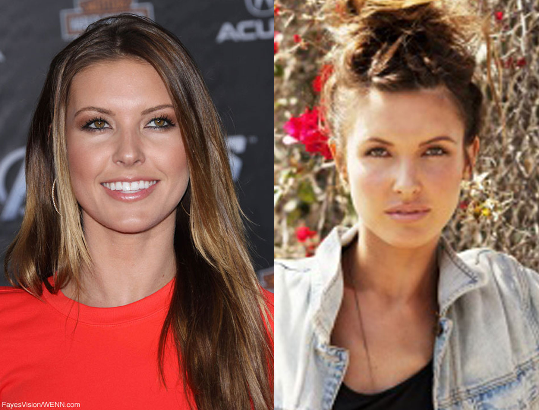 Audrina Patridge looks gorgeous wearing less makeup - starcasm.