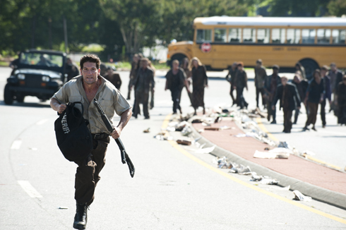 Shane leaves Otis behind in The Walking Dead