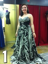 16 and Pregnant Alex Sekella prom dress one