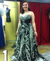 16 and Pregnant Alex Sekella prom dress one