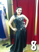 Teen Mom 3 Alex Sekella tries on prom dresses