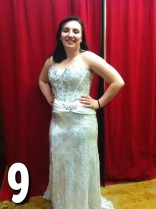 Teen Mom 3 Alex Sekella tries on a gorgeous prom dress