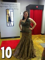 Teen Mom 3 Alex Sekella tries on a leopard print prom dress