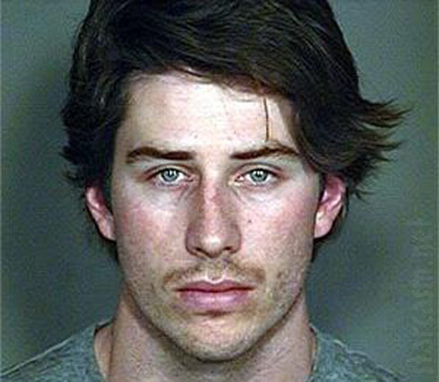 Arie Luyendyk Jr mug shot photo
