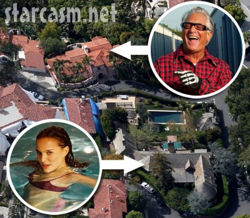 Barry Weiss' house is right across De Mille Dr. from Natalie Portman's house