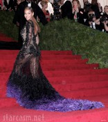 Beyonce 2012 Met Costume Gala red carpet