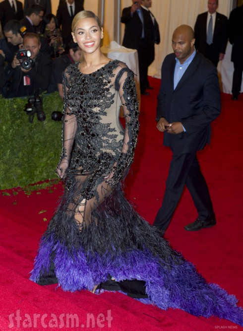 Beyonce Knowles 2012 Met Gala photo