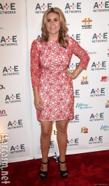 Brandi Passante at the A&E 2012 Upfront