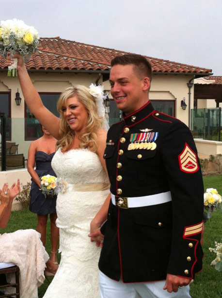 Vicki Gunvalson's daughter Briana Wolfsmith Culberson wedding photo