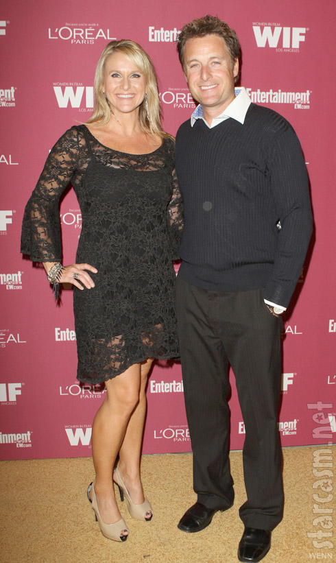 Chris Harrison with wife Gwen Jones in 2011