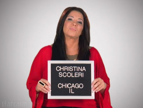 VH1 Mob Wives Chicago Christina Scoleri mugshot photo 