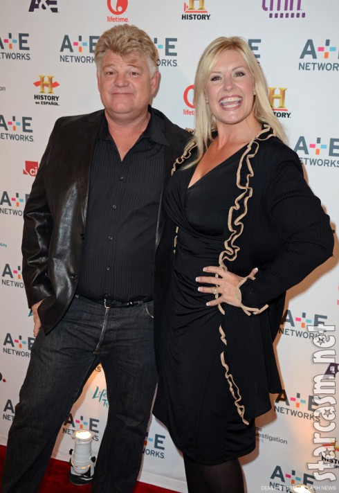Storage Wars auctioneers Dan Dotson and Laura Dotson