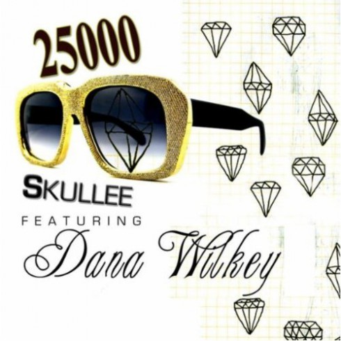 Cover art for Skullee single 25,000 featuring Dana Wilkey of The Real Housewives of Beverly Hills