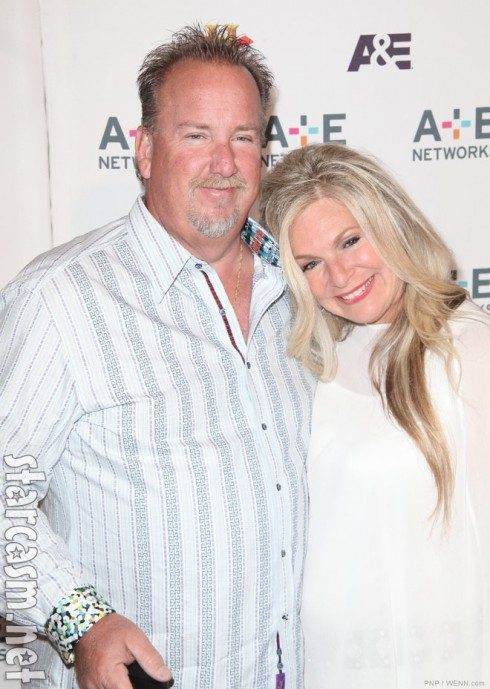 Storage Wars Darrell Sheets with fiancee Kimber Wuerfel