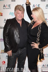Don and Laura Dotson at the A&E 2012 Upfront