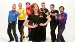 Yellow Wiggle Emma Watkins and the rest of the Wiggles old and new