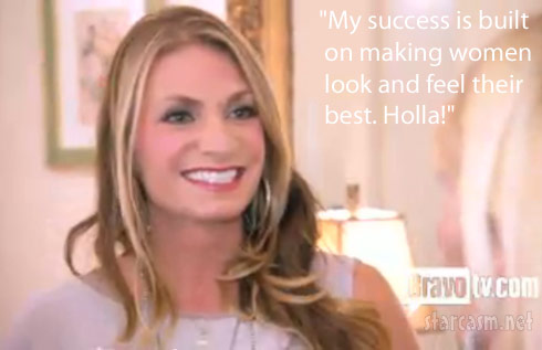 """My success is built on making women look and feel their best - Holla!"""