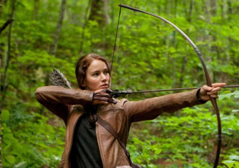 Katniss Everdeen Bow Jennifer Lawrence Hunger Games Lions Gate