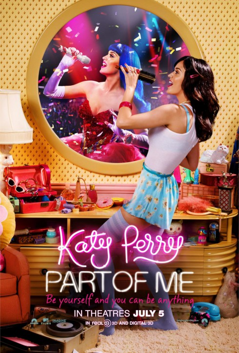 Katy Perry Part of Me movie poster completed
