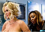 Kim Zolciak toples getting Kroy Biermann's jersey painted on her photo 13