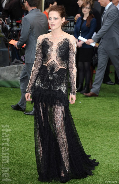 Kristen Stewart Snow White and the Huntsman World Premiere