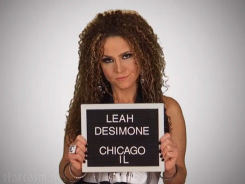 Mob Wives Chicago Leah DeSimone mug shot photo