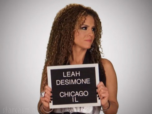 Leah DeSimone mugshot from VH!'s Mob Wives Chicago