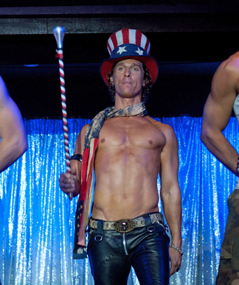Matthew McConaughey as Dallas in Magic Mike