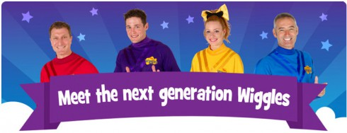 The Wiggles new lineup Emma Watkins Lachlan Gillespie Simon Pryce Anthony Field