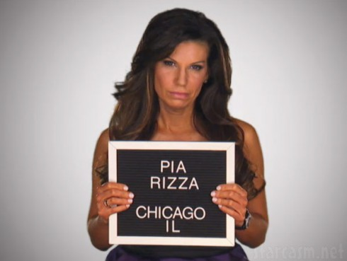 Mob Wives Chicago Pia Rizza mug shot photo
