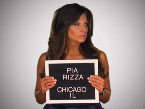 Mob Wives Chicago Pia Rizza mugshot profile photo