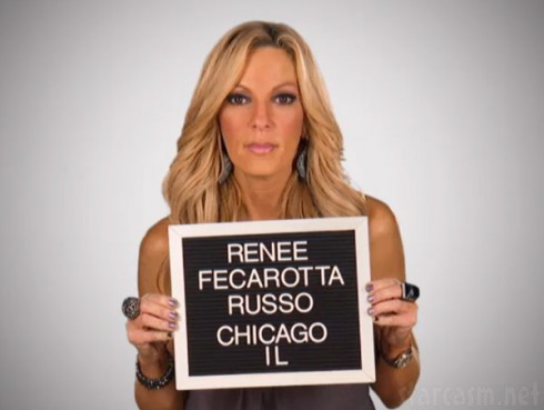 Mob Wives Chicago Renee Russo mug shot photo