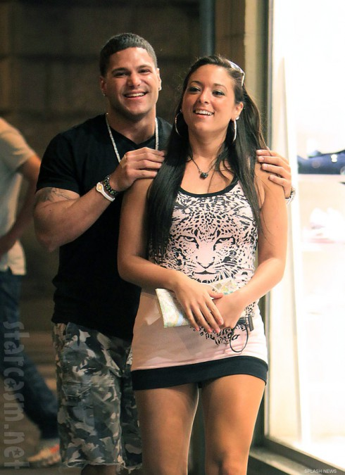 Jersey Shore's Sammi Giancola and Ronnie Ortiz-Magro SamRon back together 2012