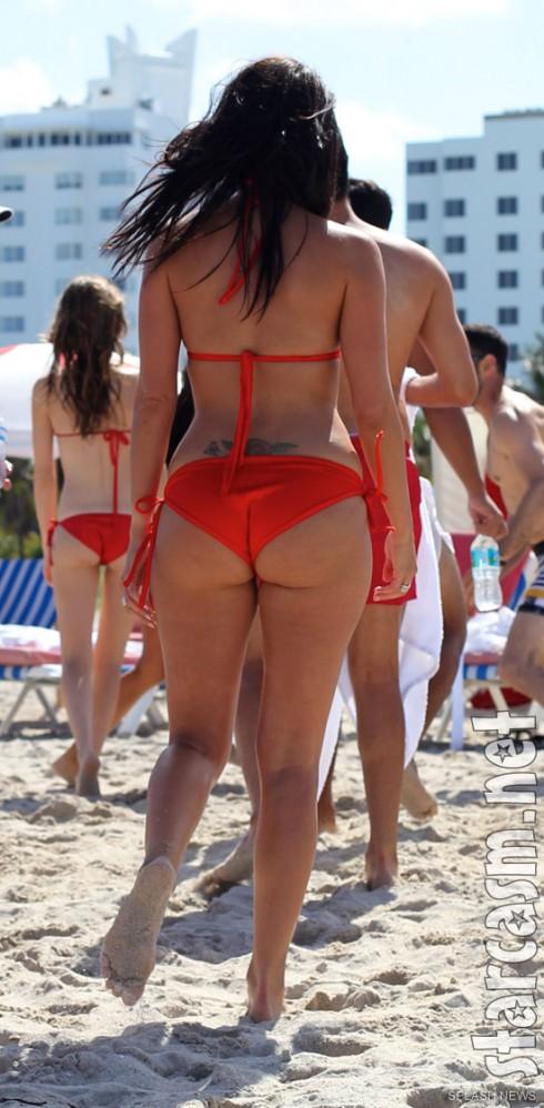 The Catalina hotel manager Stephanie Andron bikini photo