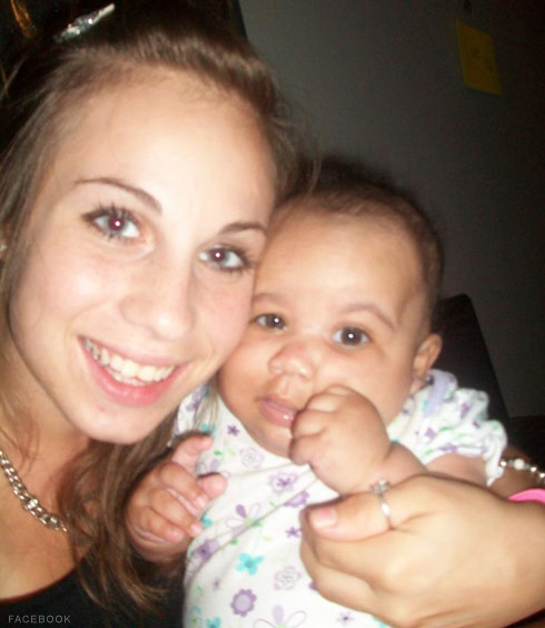 Birth Moms Taylor Walters and daughter Nevaeh