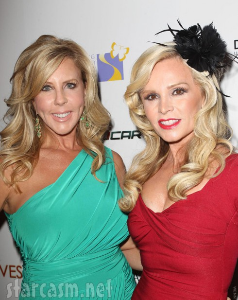 Vicki Gunvalson and Tamra Barney Wines By Wives launch party