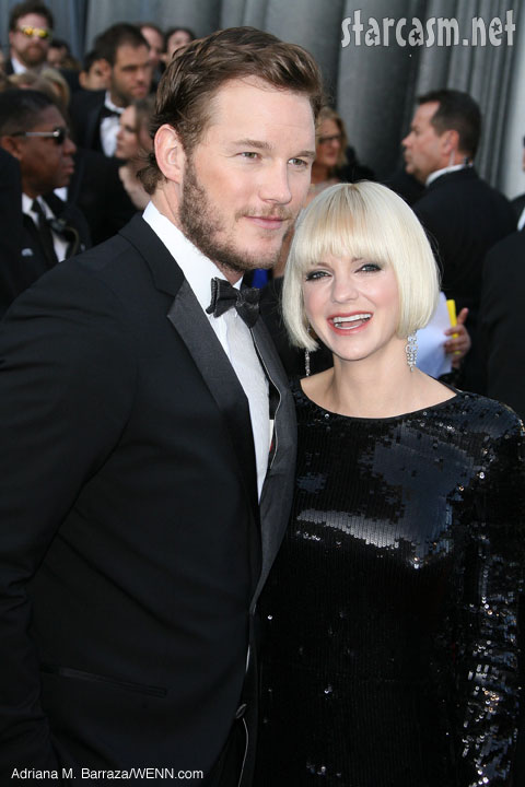 Chris PRatt Anna Faris having a baby