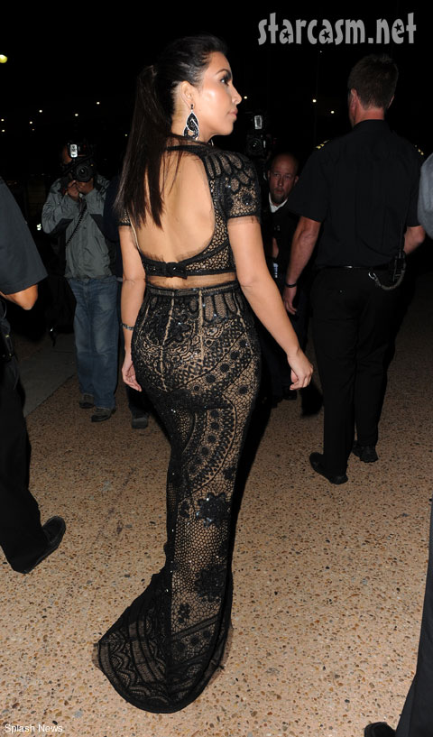 Kim Kardashian booty P. Diddy party yacht boat Cannes