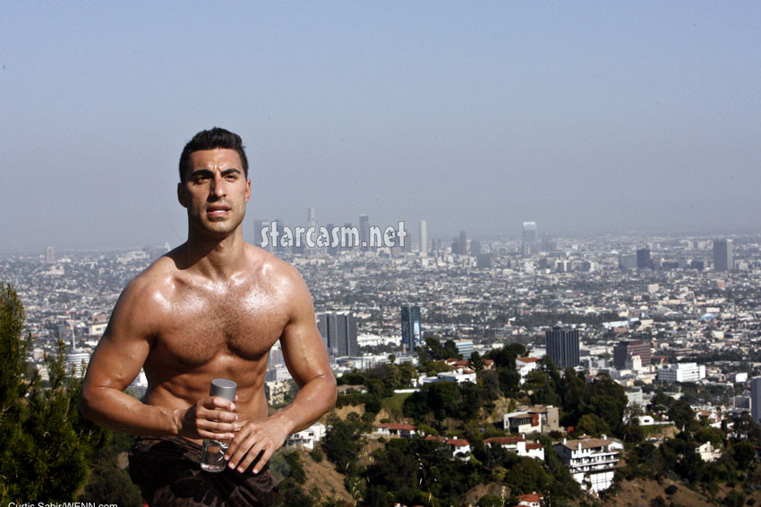 Adam Sabbah Runyon Canyon shirtless