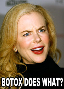 Nicole Kidman botox photo