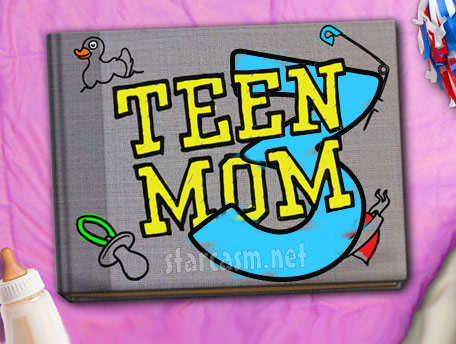 Teen Mom 3 scrapbook logo