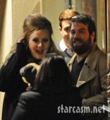 Father of Adele&#039;s baby Simon Konecki out with the singer