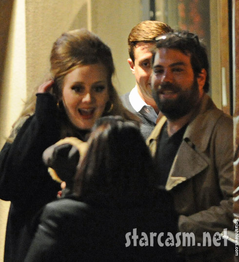 Father of Adele's baby Simon Konecki out with the singer