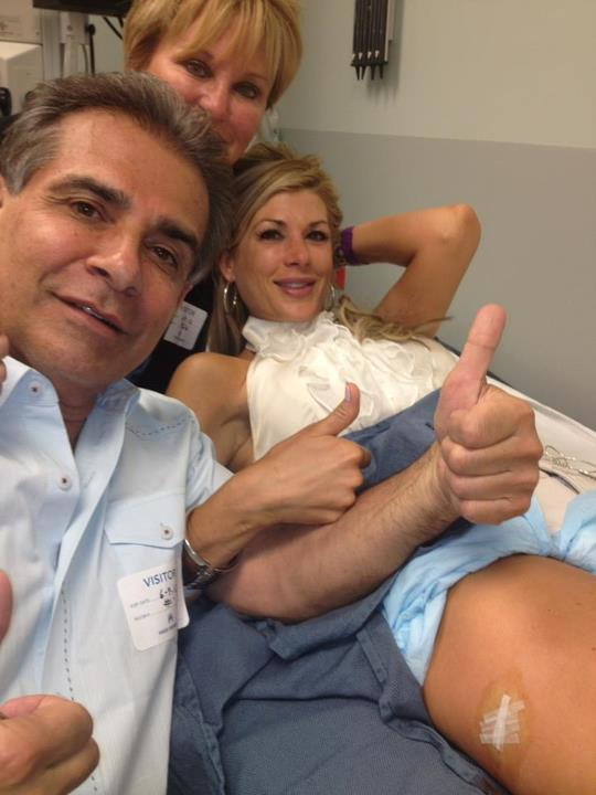 Alexis Bellino Birthday Alexis Bellino Gets Stitches