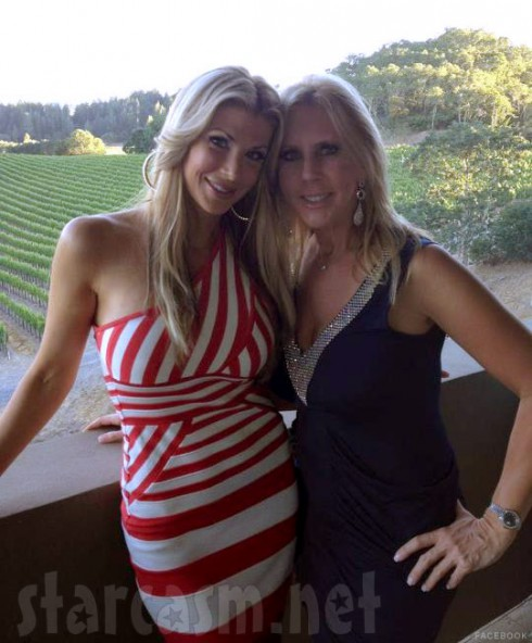Real Hosuewives of Orange County Alexis Bellino and Vicki Gunvalson