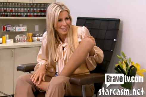 Aviva Drescher's artificial leg photo