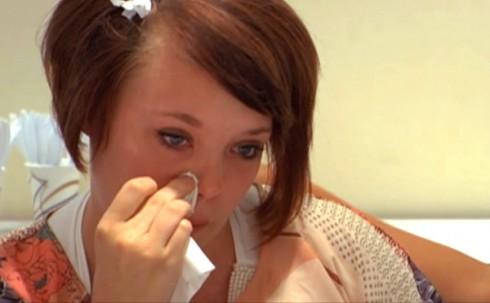 Teen Mom Catelynn Lowell cries talking about placing Carly for adoption